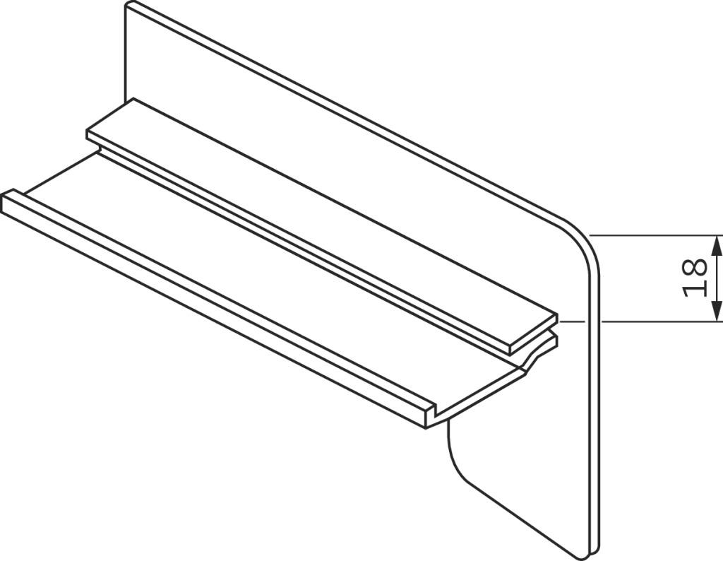 Bordstück Modell B 404 kaufen - im Haberkorn Online-Shop