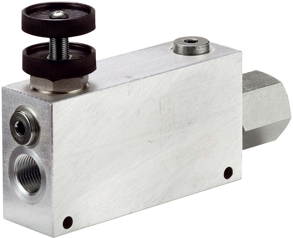 Druckkompensiertes 3-Wege-Stromregelventil VRFC3C mit Prioritäts ...