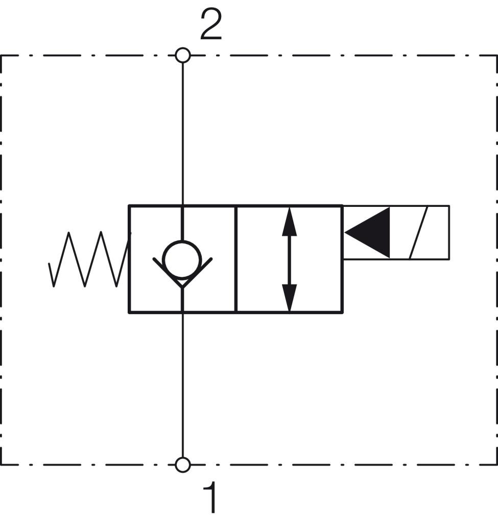 2/2-Wege-Sitzventil-Patrone VEI-*-NC, Symbol 05 kaufen - im ...