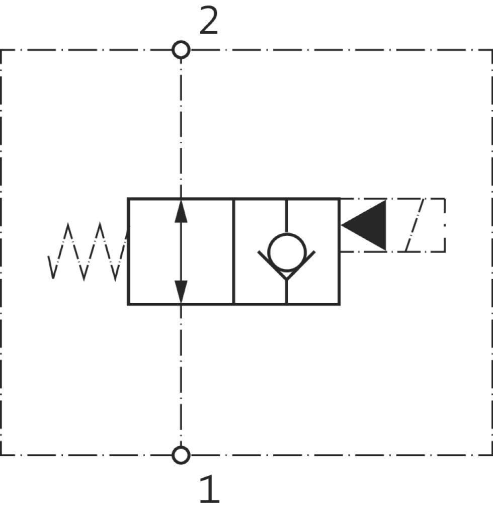 2/2-Wege-Sitzventil-Patrone VEI-*-NA, Symbol 06 kaufen - im ...