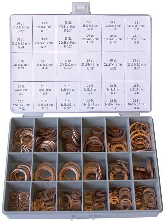 5 Stück Kupferdichtring DIN 7603 A 21 x 26 x 1,5