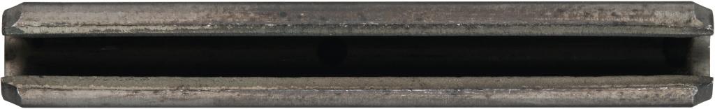 ISO 8752 1.4310 Spannstifte Abmessung: 6x80 schwere Ausf/ührung 25 St/ück geschlitzt -h/ülsen