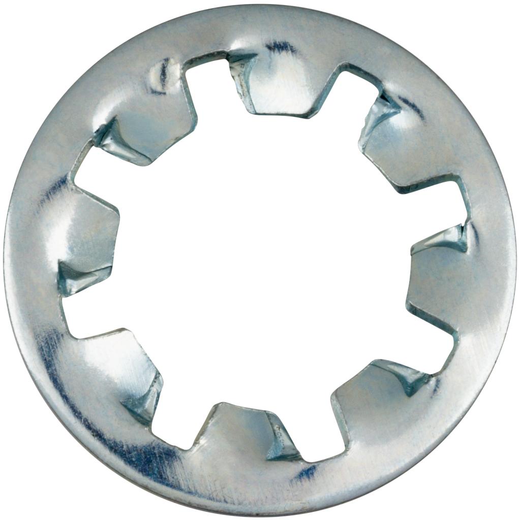DIN 6797 Zahnscheiben Form J Innenverzahnt Stahl galvanisch verzinkt